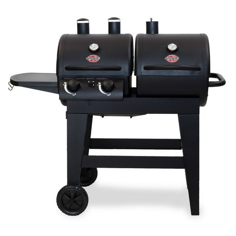 Char-Griller Dual 2-Burner Gas/Charcoal Grill - image 1 of 6