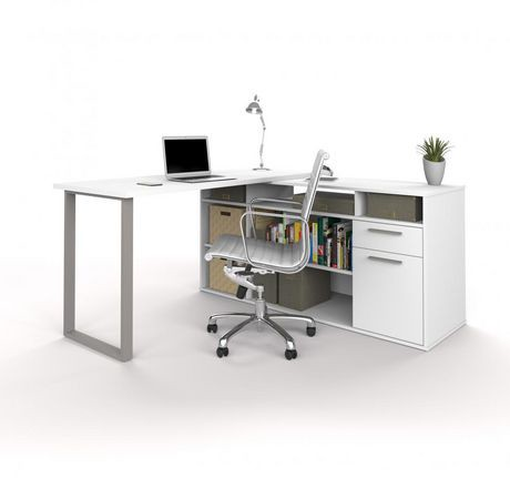 Bestar Solay L Shaped Desk Walmart Canada