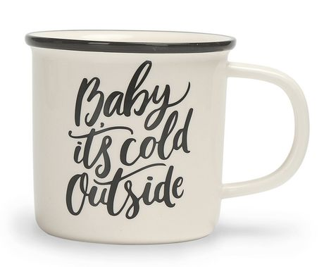 """Baby It's Cold Outside"" Mug"