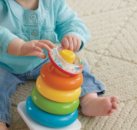 Fisher-Price Brilliant Basics Rock-a-Stack - image 4 of 9