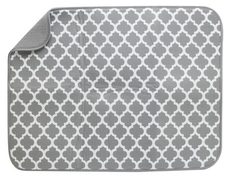 Schroeder & Tremayne Dish Drying Mat XL - Grey - image 1 of 1