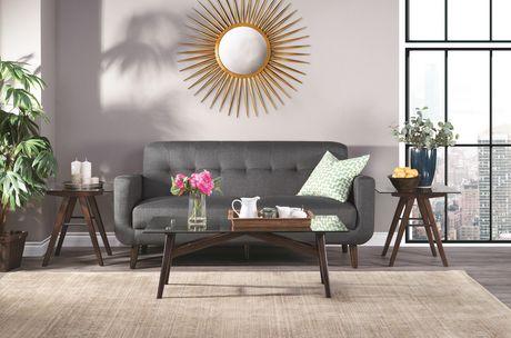 Topline Home Furnishings Table basse en verre - image 2 de 2