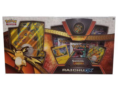 Pokemon Sun & Moon 5 Légendes Brillantes Raichu GX SP Collection Cartes à Collectionner - image 1 de 2