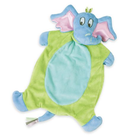 Manhattan Toy Dr. Seuss Horton Baby Tactile Snuggle Blankie - image 1 of 2