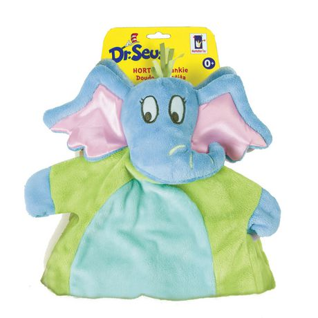 Manhattan Toy Dr. Seuss Horton Baby Tactile Snuggle Blankie - image 2 of 2