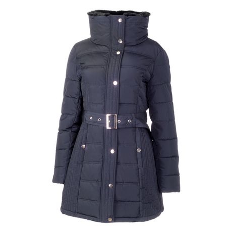 George Women's Belted Puffer Jacket - image 1 of 1
