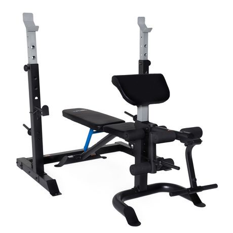 Fuel Pureformance Olympic Bench With Squat Rack Walmart