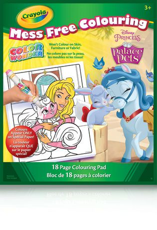 Crayola Color Wonder Disney Princess Palace Pets Mess Free Colouring Pad