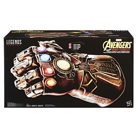 Marvel Legends Series - Gant de l'infinité électronique articulé - image 1 de 8