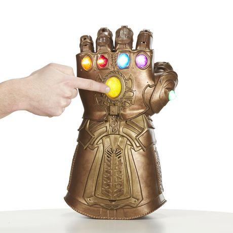 Avengers Marvel Infinity guerre Gauntlet électronique Fist Figure