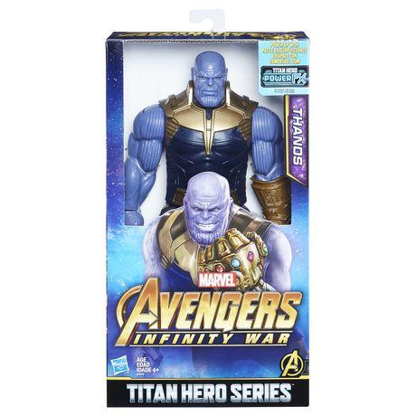 Marvel Infinity War Titan HERO Series Thanos with Titan HERO Power FX Port - image 1 of 7