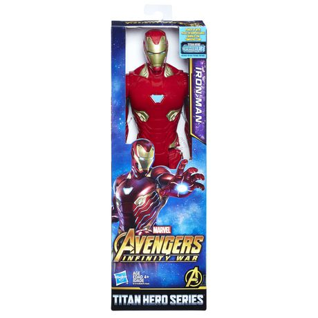 Marvel Avengers: La guerre de l'Infini - Titan Hero Series - Iron Man avec port Power FX - image 1 de 6