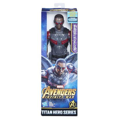 Marvel Avengers: La guerre de l'Infini - Titan Hero Series - Marvel's Falcon avec port Titan Hero Power FX - image 1 de 2