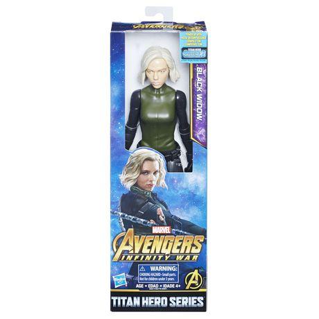 Marvel Avengers: La guerre de l'Infini - Titan Hero Series - Black Widow avec port Titan Hero Power FX - image 1 de 2