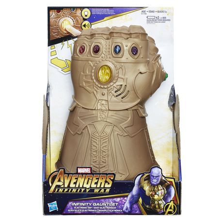 Marvel Infinity War - Gant de l'infinité électronique - image 1 de 2