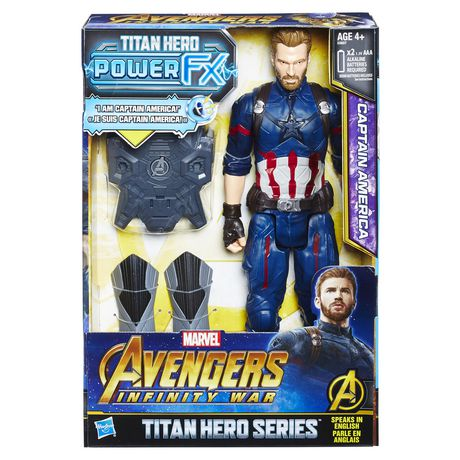 Marvel Infinity War - Titan Hero Power FX - Captain America - image 1 de 2