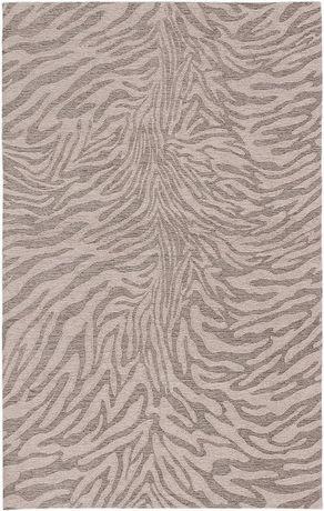"""Tapis Portico gris ivoire chenille 5'0""""x 8'0"""" - image 2 de 4"""