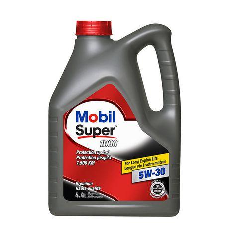 Mobil Super 1000 5w 30 4 4l Motor Oil