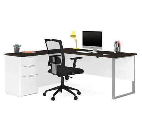 Bestar Pro-Concept plus L-Desk with Metal Leg - image 1 of 3