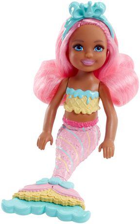 Barbie - Dreamtopia - Royaume des Bonbons - Poupée Sirène - image 1 de 4