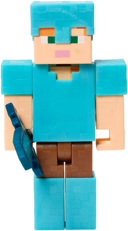 Minecraft Alex en Diamant Armor Action Figure