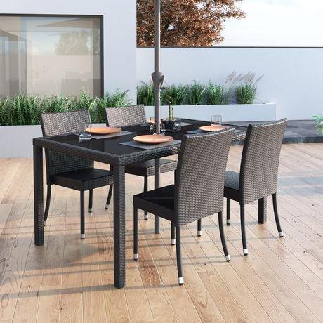 Corliving Sonax Ppt 602 T Park Terrace Charcoal Black