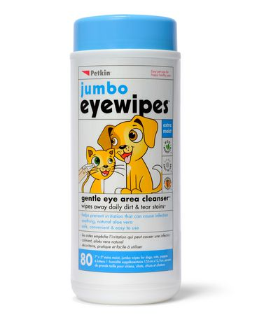 Petkin Jumbo Eyewipes - 80ct - image 1 of 1