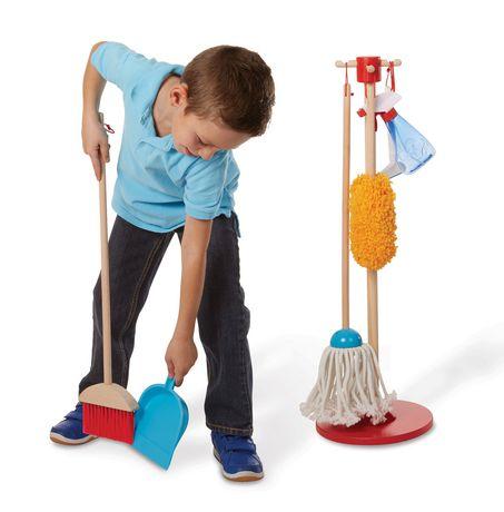 Melissa & Doug Neat & Tidy Housekeeping Play Set - image 2 of 6