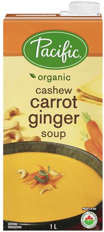 Pacific Natural Foods Natural Cashew Carrot Ginger Soup