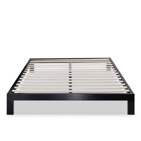 platform frame beds shop steel zinus collections bed