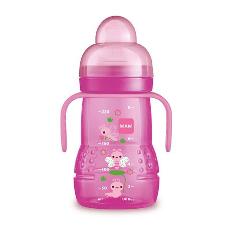 MAM Trainer Cup with nipple and extra soft Girl spout - image 1 of 1