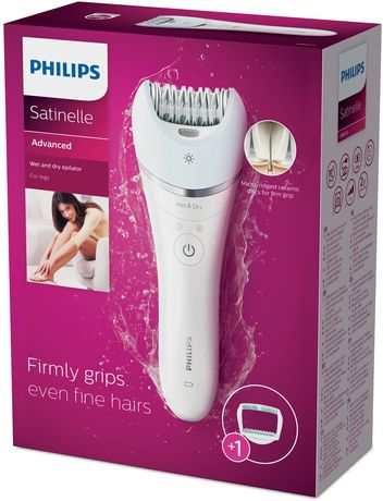 1d42521f94 Philips Satinelle Advanced Wet   Dry Epilator - BRE610 00 2 - image 1 ...