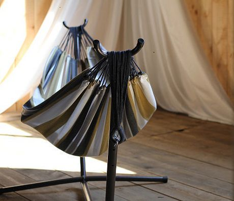 Vivere's Combo - Double Hammock with Stand (8ft) - image 2 of 3
