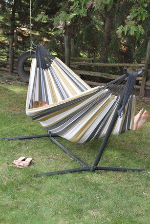 vivere u0027s  bo   double hammock with stand  8ft  vivere u0027s  bo   double hammock with stand  8ft    walmart canada  rh   walmart ca
