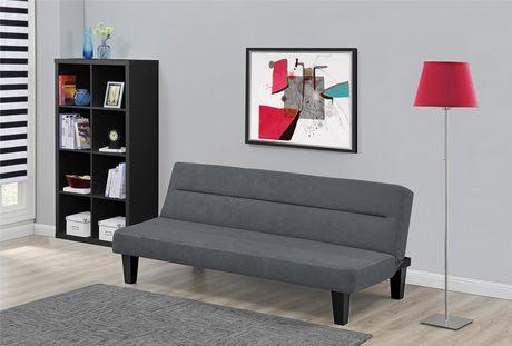 DHP Canapé-lit futon Kebo, gris - image 4 de 4