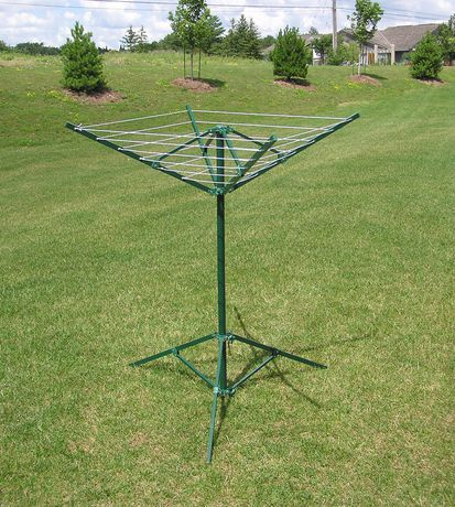 Greenway Portable Outdoor Rotary, Portable Round Clothesline