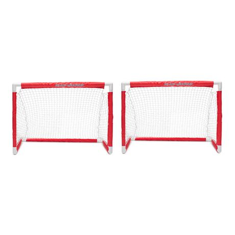 Road Warrior Mini Hockey Two Goal Combo Set Walmart Canada