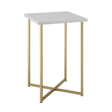 Manor Park Modern Square Side Table - Multiple Finishes - image 4 of 8
