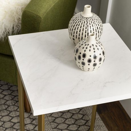Manor Park Modern Square Side Table - Multiple Finishes - image 7 of 8