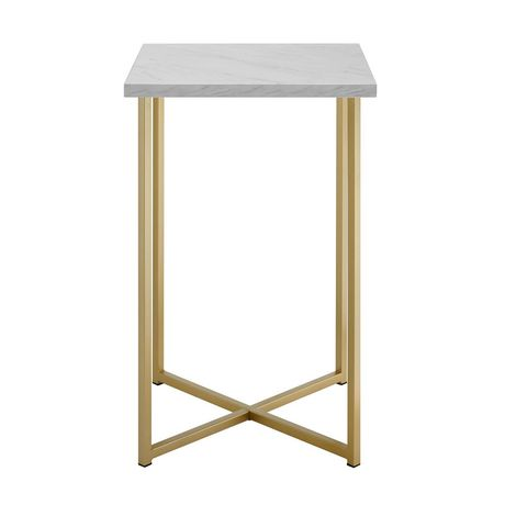 Manor Park Modern Square Side Table - Multiple Finishes - image 3 of 8