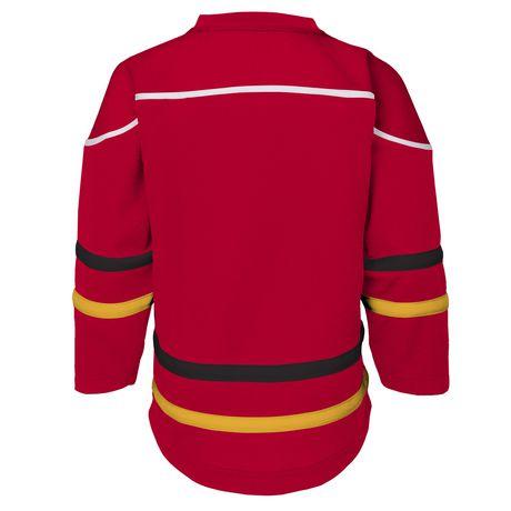 buy popular d9db0 3f4eb NHL Calgary Flames Youth Team Jersey