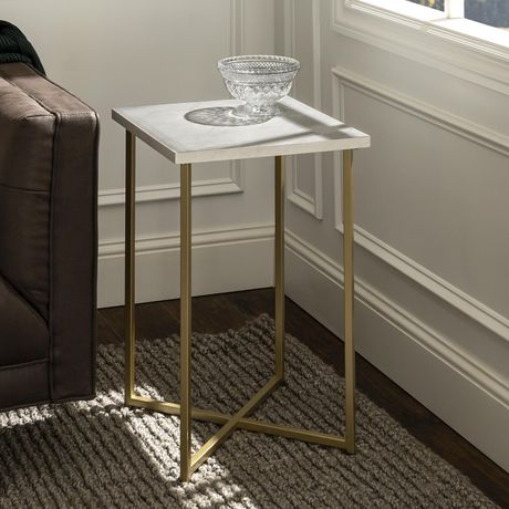 Manor Park Modern Square Side Table - Multiple Finishes - image 1 of 8