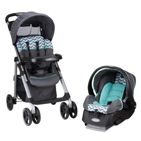 EvenfloR Vive Hayden Dot Embrace LX Infant Car Seat Travel System