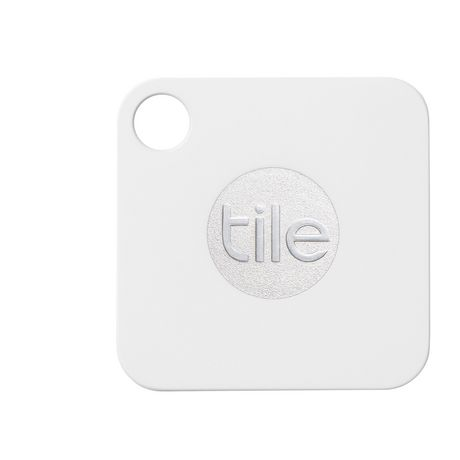 Square white Tile Mate Bluetooth tracker