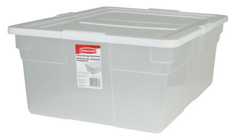 Merveilleux Rubbermaid 41.6 L Storage Container   Image 1 Of 1 ...