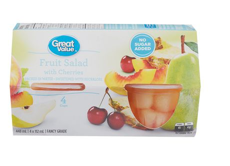 Great Value Fruit Salad With Cherries Walmart Canada