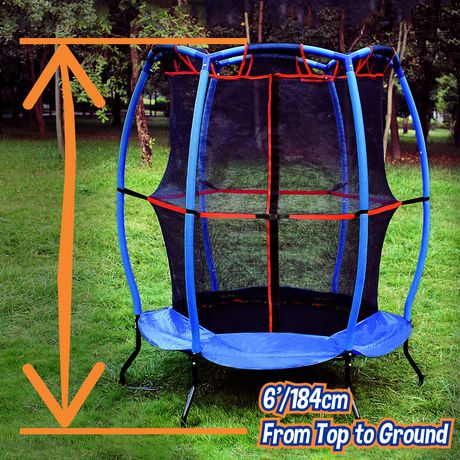 """Trainor Sports 55"""" My First Trampoline And Enclosure Combo - image 3 of 7"""
