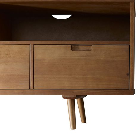 "Manor Park 3-Drawer Mid Century Modern TV Stand for TV's up to 64""- Multiple Finishes - image 5 of 6"