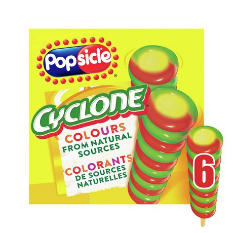 Popsicle Cyclone Strawberry Lemon-Lime Pineapple Ice Pops - image 2 of 9