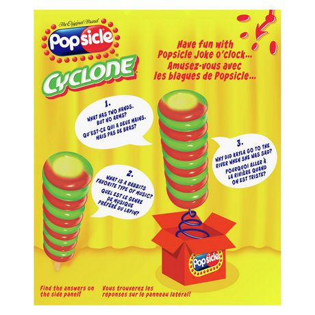 Popsicle Cyclone Strawberry Lemon-Lime Pineapple Ice Pops - image 3 of 9